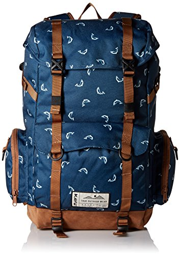 KAVU Camp Sherman Backpack, Fly Fish
