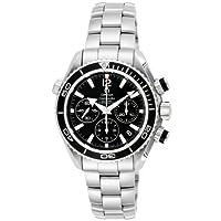 [オメガ]OMEGA 腕時計 シーマスタープラネットオーシャン ブラック文字盤 600M防水 コーアクシャル自動巻 クロノグラフ 222.30.38.50.01.001  【並行輸入品】