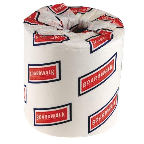 Boardwalk White 2 Ply Toilet Tissue, 4.5 x 3 inch - 500 shee