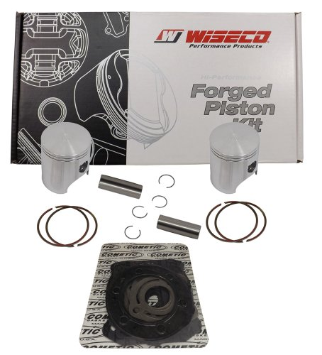 Wiseco (SK1321) 77.25mm 2-Stroke Piston Kit for Polaris Snowmobile