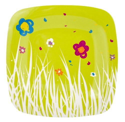 Zak Designs Pixie 10-Inch Melamine Dinner Plate