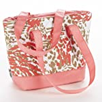 Anna Insulated Quilted Lunch Tote (Pink Animal)