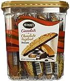 NONNI'S BISCOTTI TRADITIONAL ASSORTMENT 25 COUNT HAZELNUT AND CIOCCOLATI chocolate cocoa butter almonds walnuts & more!