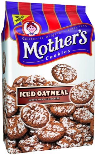 Mother's Iced Oatmeal Cookies, 14-Ounce Bags (Pack of 4)