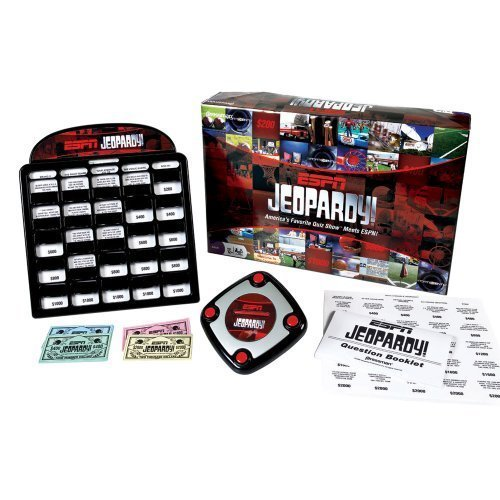 Pressman Espn Jeopardy Game by Pressman Toy
