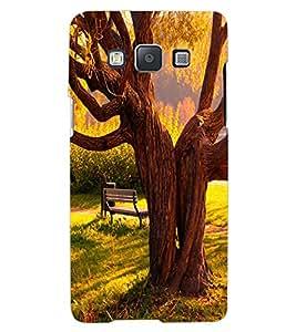 ColourCraft Tree Design Back Case Cover for SAMSUNG GALAXY A7