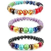 Fibo Steel 8MM 1-3Pcs Beads Bracelet