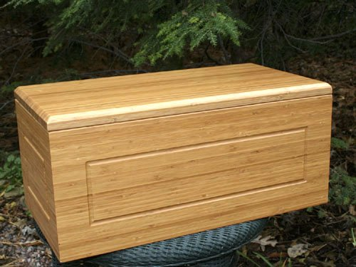 Final Journey Bamboo Pet Casket 20