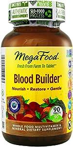 MegaFood Blood Builder Tablets, 90 Count