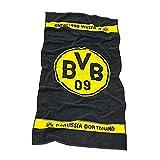 Bertels 1454-21-7-01 Borussia Dortmund Duschtuch Logo