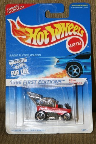 Hot Wheels 1996 First Editions #9 Of 12 Radio Flyer Wagon 1:64 Scale