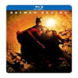 Batman Begins (Limited Edition SteelBook) [Blu-ray]