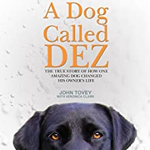 A Dog Called Dez: The True Story of How One Amazing Dog Changed His Owner's Life (       UNABRIDGED) by John Tovey, Veronica Clark Narrated by Philip Ormond