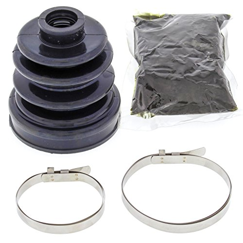 All Balls 19-5011 Black 18mm x 62mm x 80mm Long CV Boot Kit (Cv Boot Repair Kit For Suzuki 450 compare prices)