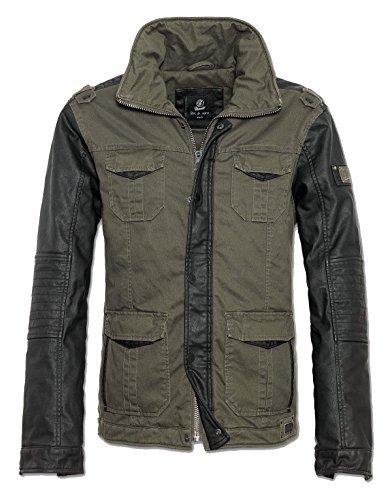Brandit Ray Vintage Jacket Giacca oliva/nero L