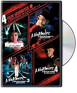 A Nightmare On Elm Street 1-4 4 Film Favorites from New Line Home Video