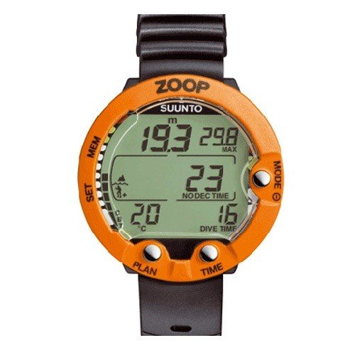"Suunto ""Zoop"" Air/Nitrox Wrist Computer - Orange"