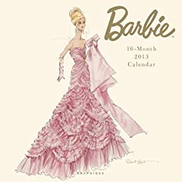 Barbie 2013 Calendar