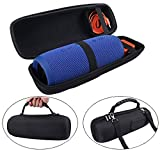 MASiKEN Protective Case EVA Hard Travel Carrying Case Shockproof Storage Bag for JBL Charge 3 Speaker & Charger