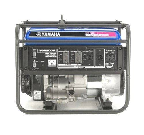 Yamaha YG5200D 5,200 Watt 301cc OHV 4-Stroke Gas Powered Portable Generator (CARB Compliant)