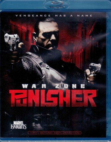 Punisher: War Zone (Single Disc Blu Ray Edition)