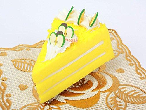 チーズケーキ型 ヘアピン 子ども スイートティーブレイク イエロー