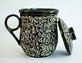 Tea Brew Tea Infuser Mug Black (300 ml)