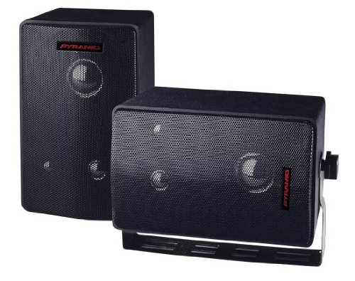 Pyramid 3808 400 Watts 3Way Mini Box Speaker System