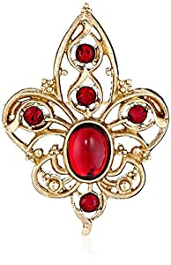 "1928 Jewelry ""Classic Pins"" Gold-Tone Siam Pin"