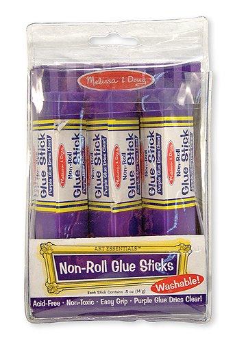 Non-Roll Glue Stick 3PK
