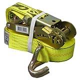 CargoLoc 82291 2-Inch by 27-Feet Ratchet Tie Downs (Tamaño: J-Hooks, Aluminum Grips)