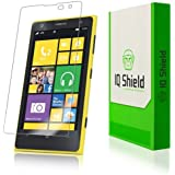 IQ Shield LIQuidSkin - Nokia Lumia 1020 Screen Protector with Lifetime Replacement Warranty - High Definition (HD) Ultra Clear Phone Smart Film - Premium Protective Screen Guard - Extremely Smooth / Self-Healing / Bubble-Free Shield - Kit comes in Frustration-Free Retail Packaging