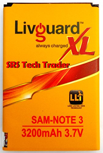 Livguard 3200mAh Battery (For Samsung Note 3)