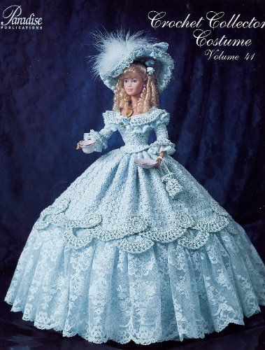 [1852 Tea Party Gown - Crochet Collector Costume Volume 41 (P-056)] (Paradise Costumes Volume)