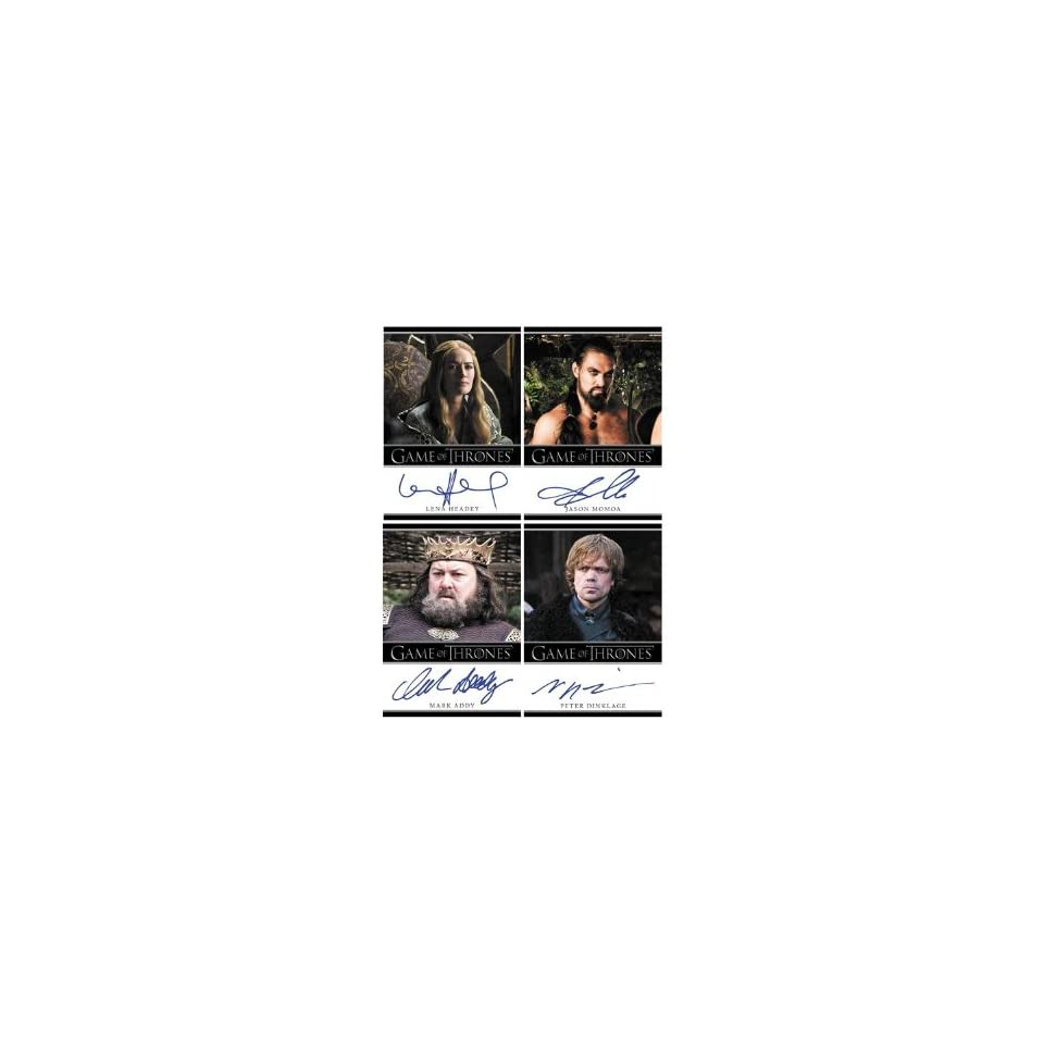 Rittenhouse Game of Thrones Season 1 Trading Card Box 24 Packs