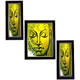 3 PIECE SET OF FRAMED WALL HANGING ART - B01ECLP6B0