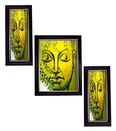 3 PIECE SET OF FRAMED WALL HANGING ART - B01ECLP6B0