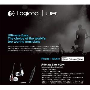 Ultimate Ears ハンズフリー高遮音性イヤフォン UE600VI
