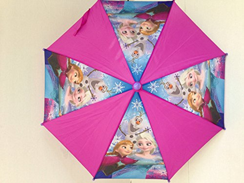 Disney Frozen Elsa & Anna & Olaf Fry Umbrella (Disney Frozen Rain Gear compare prices)