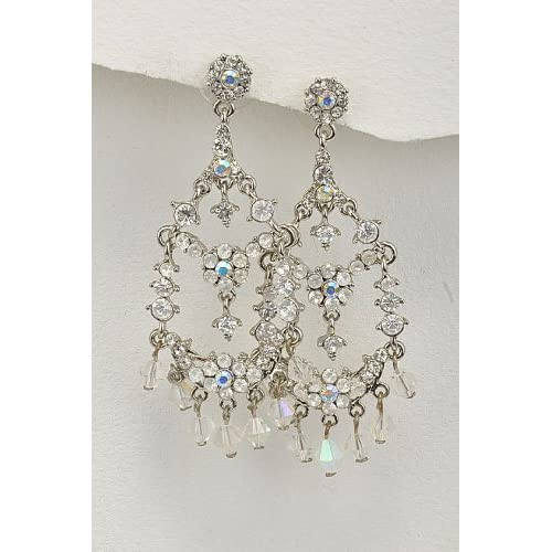 Fancy Lady Fashion Jewelry Princess Style Chandelier Earrings