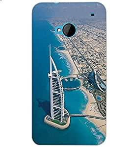HTC ONE M7 BUILDING Back Cover by PRINTSWAG