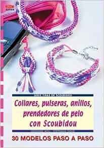 Serie Scoubidou nº 6. COLLARES, PULSERAS, ANILLOS, PRENDEDORES DE