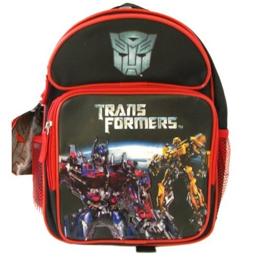 Transformers Bumblebee Toddler Backpack - Small Red Backpack, Water