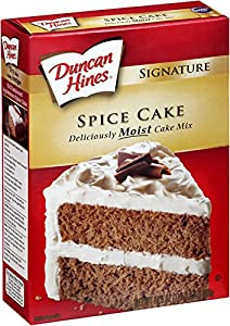 Duncan Hines Moist Signature Spice Cake Mix 16.5 oz