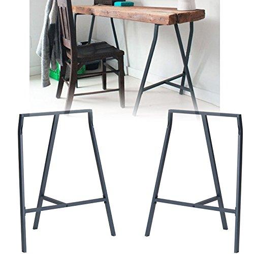 set-of-2-industrial-look-durable-steel-crosscut-trestle-legs-for-table-desk-or-workstation-dark-gray