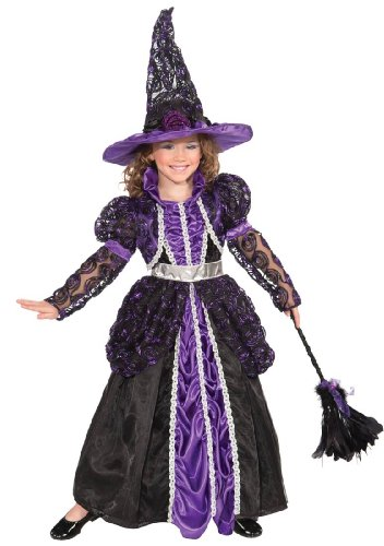 Forum Novelties Designer Collection Deluxe Pandora The Witch Costume, Child Medium (Pandora The Witch Costume)