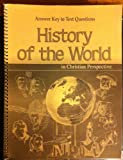 img - for History of the World in Christian Perspective: Answer Key to Text Questions book / textbook / text book