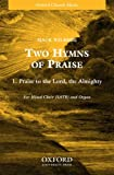 img - for Praise to the Lord, the Almighty: SATB Version book / textbook / text book
