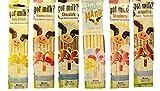 Magic Milk Milk Magic Flavoring Straws 36 Assorted Flavor Straws Vanilla Milkshake Strawberry Banana Chocolate Strawberry Neapolitan Cotton Candy