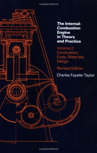 Internal Combustion Engine in Theory and Practice: Combustion Fuels, Materials, Design v. 2 (Internal Combustion Engine in Theory & Practice)